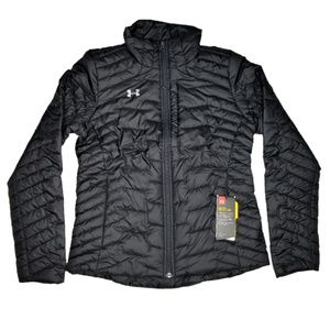 Under Armour ColdGear Reactor Puffer Jacket Black